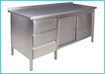 Stainless Steel Furnitures Manufacturer in India